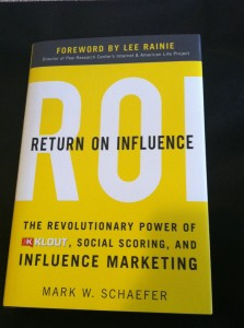 ROI: Return On Influence by Mark W. Schaefer