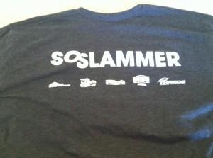 Social Slam Volunteer Shirt (back)