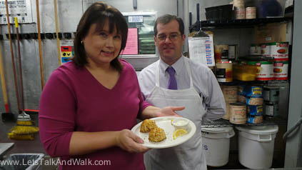 Glenneth and Chef Rodney