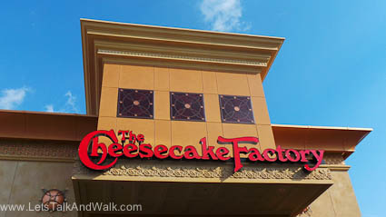 Cheesecake Factory Knoxville Review 1
