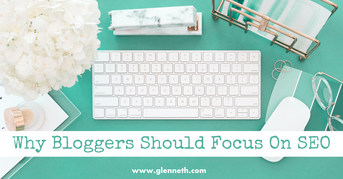 why bloggers should focus on seo - twitter