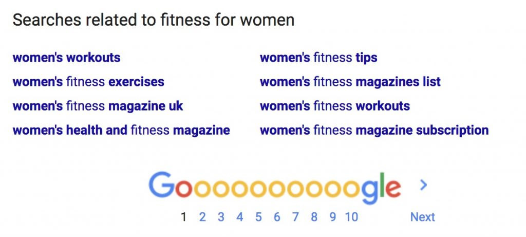 searches related to fitness for women