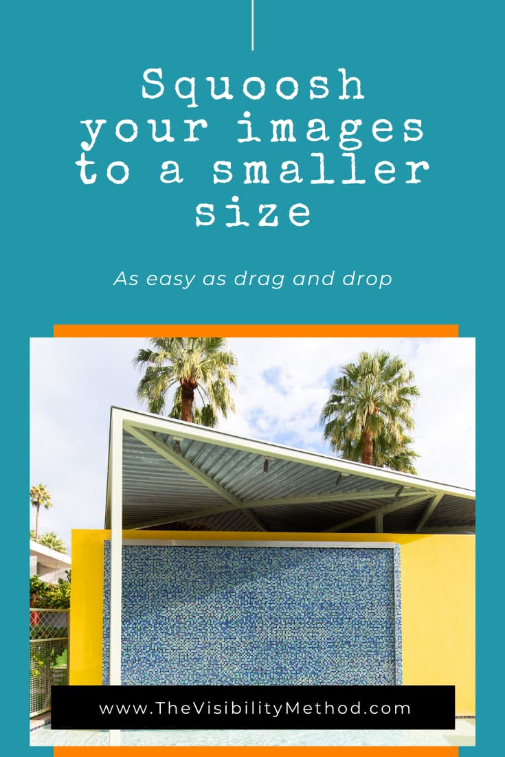 Squoosh your images to a smaller size